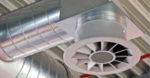 Система вентилирования дыма при возникновении пожара