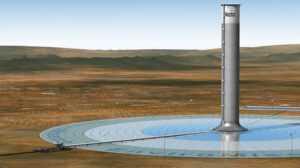 Башни, работающие от энергии Солнца